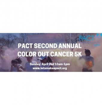 PACT 2nd annual color out cancer race