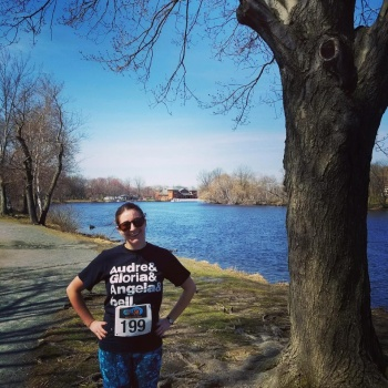 Paulina runs the Somerville Homeless Coalition 5K