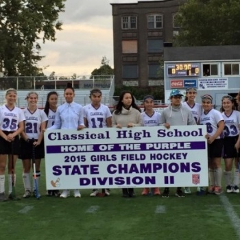 Classical High School Field Hockey Play for the Cure