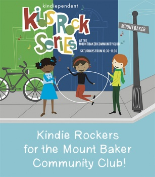 Kindie Rockers for the Mount Baker Community Club!