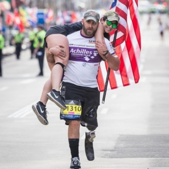 SUPPORT THE ACHILLES TEAM OF WOUNDED VETERANS | 2017