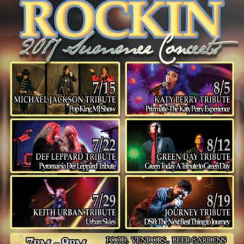 The Shops at Dos Lagos presents The 2017 Rockin' Summer Concert Series