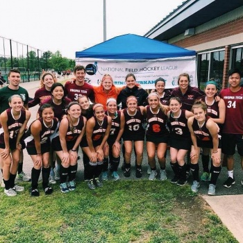 VT Field Hockey Drives Out Cancer Image