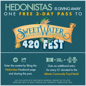 Sweetwater 420 Fest Ticket Giveaway to Benefit the Atlanta Community Food Bank