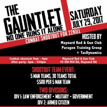 The Gauntlet: Fundraiser for our nations Combat Wounded and #22Kill Image