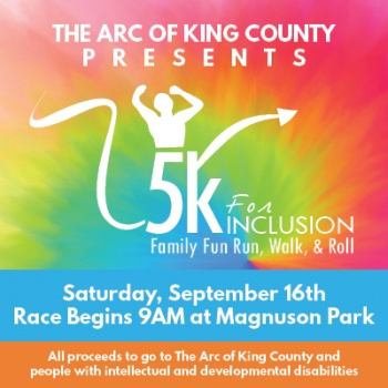 5k for Inclusion: Family Fun Run, Walk, and Roll