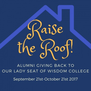 Raise The Roof Alumni Giving Back Campaign