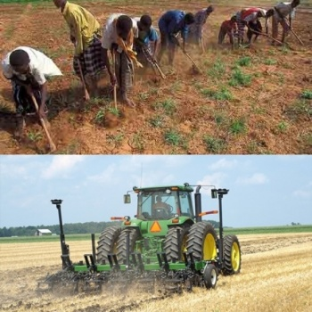 Save rural African farmers from manual labor with a tractor Image