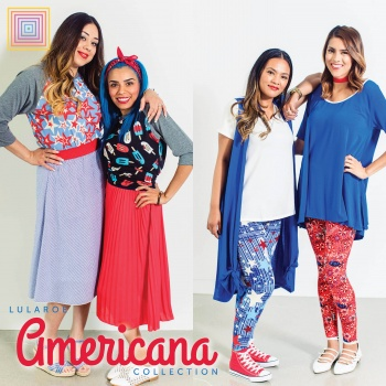 The Americana Collection by LuLaRoe Amy Riley, Supporting the USO