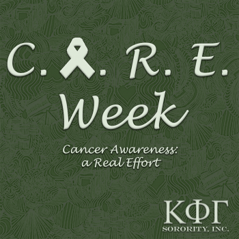 Kappa Phi Gamma's C.A.R.E. Week for My Hope Chest