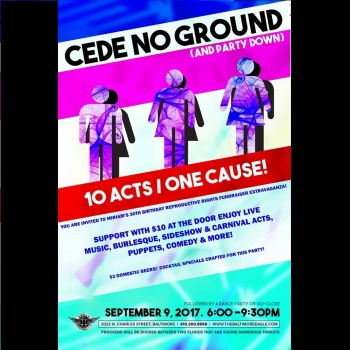 Cede No Ground: Help Two Abortion Clinics under Siege ( Miriam's fundraiser party details included)