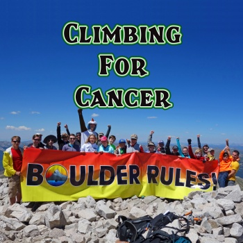 Boulder Karate - Climbing For Cancer