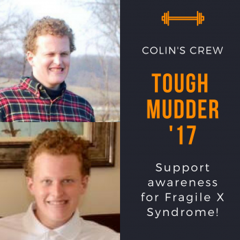 Colin's Crew - Tough Mudder for FXS awareness