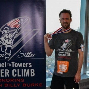 Adam Knight - Tunnel to Towers Tower Climb NYC