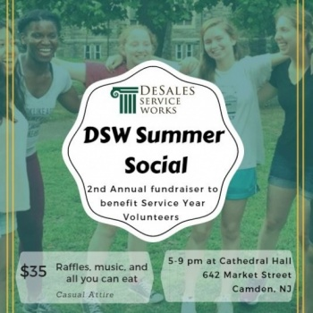 2nd Annual Summer Social to benefit Service Year Volunteers