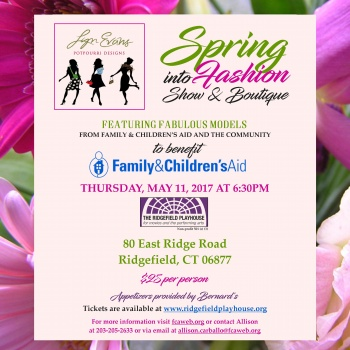 Lyn Evans Potpourri Designs Spring into Fashion Show for FCA