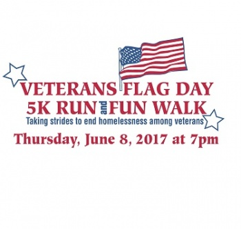 16th Annual Veterans Flag Day 5K Run and Fun Walk