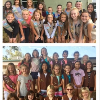 Girl Scouts for Victims of Hurricane Harvey and Irma