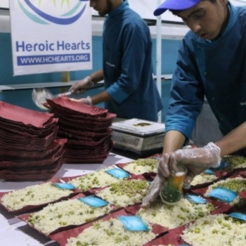 Iftar for Besieged Areas in Syria