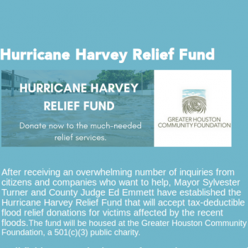 Hurricane Harvey Recovery Image