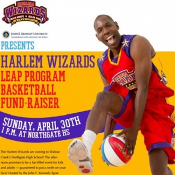 Harlem WIzards LEAP Fundraising Basketball Game