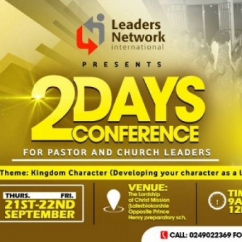2 Days LNI National Conference for Pastors and Church Leaders