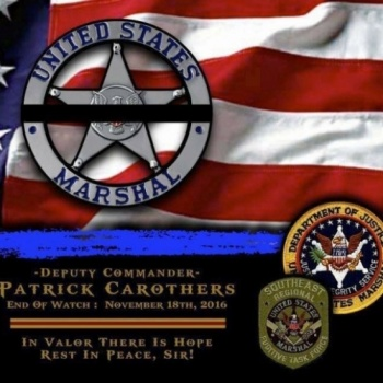 U.S. MARSHALS Team IOD For Pat