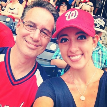 Join Nikki and Watch a Washington National's Game!