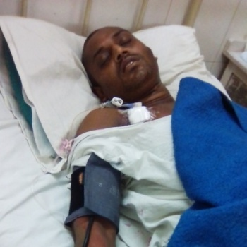 the Cancer patients is poor and suffering and cannot treatment for money Please Help her.