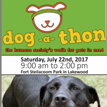 Dog A Thon 2017.  All funds go towards the Pierce County Humane Society