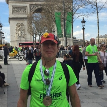 Kenny Fisher Goes the Extra Mile for Cancer Research