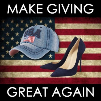 Heels&Hats Challenge 4 Disaster  Relief 2017: MAKE GIVING GREAT AGAIN!