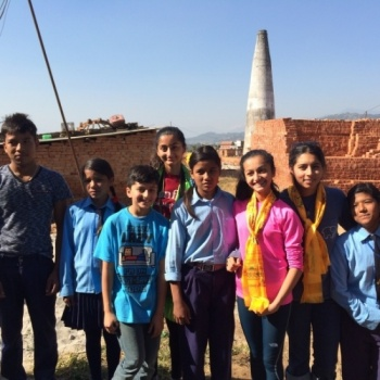 Smart School for Kids of Brick Factory Workers