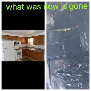 Rebuilding mine and my children's lives  after a total loss due to house fire   Image
