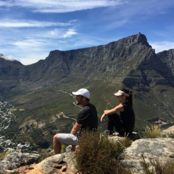 Candi & Bjorn's first marathon together: Trying to make a (small) difference