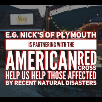 E.G. Nick's of Plymouth Disaster Relief Fundraiser Image