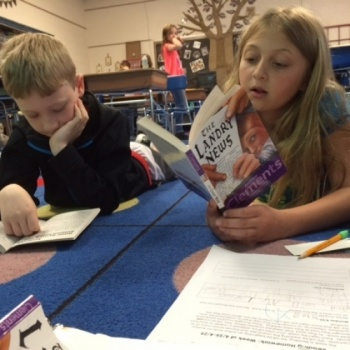 Motivating Reluctant Readers with Author Studies at Havre de Grace Elementary School