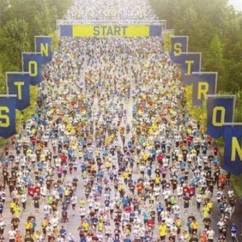 2017 Boston Marathon: Support Above the Clouds and help bring joy and hope to a child