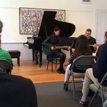 Perform-a-thon 2017 for the New School of Music in Cambridge