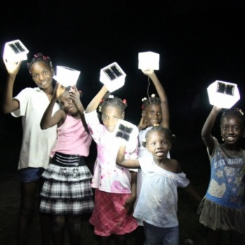 UNITE WITH LIGHT Studio Unite & Third Wave Volunteers bring light to Haitian school students.