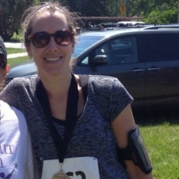 Running the Charles Street 12 for Every Mother Counts