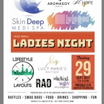 Ladies Night benefiting the American Cancer Society