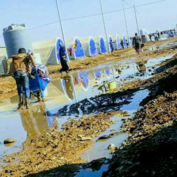 Help refugees in Iraq Image