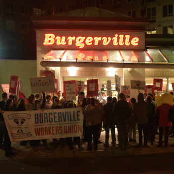 Member of the IWW Burgerville Workers Union  Arrested for Seeking Workplace Justice
