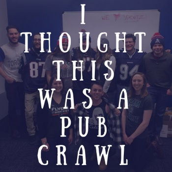 I thought this was a pub crawl