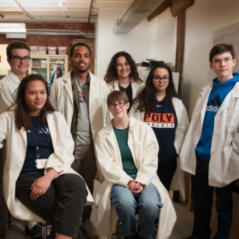 Help Baltimore High School Students use Biotechnology to Clean Up Plastic in Charm City