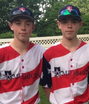 Kevin and Kyle Brady:  Raising Money for the Irish Junior National Baseball Team