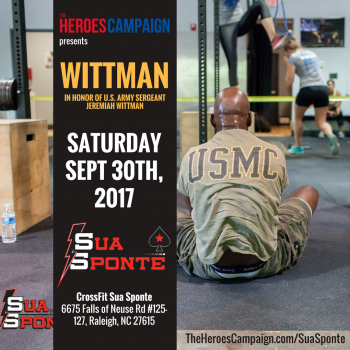 General Donations - Wittman at CrossFit Sua Sponte