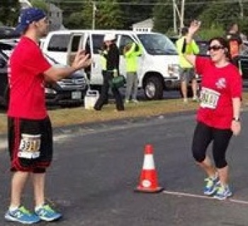 Kristen's & Mike's Steve's Team Marathon for Salem Boys & Girls Club