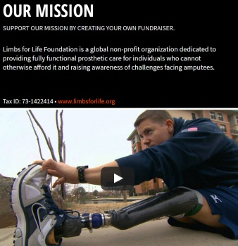 Limbs for Life Foundation-Tough Mudder Wisconsin